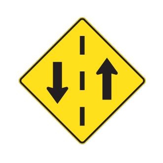 signal avanc de circulation double sens signalisation l vis. Black Bedroom Furniture Sets. Home Design Ideas