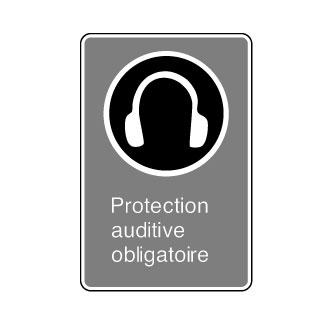 port d une protection auditive obligatoire signalisation. Black Bedroom Furniture Sets. Home Design Ideas