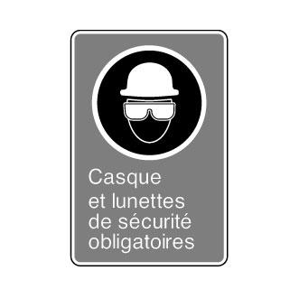 Port du casque et des lunettes de s curit obligatoire - Port des lunettes de securite obligatoire ...