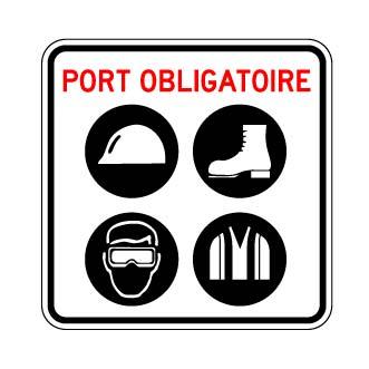 panneau port obligatoire