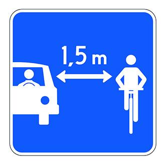 dépassement vélo