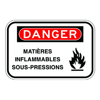 matières inflammables sous-pressions