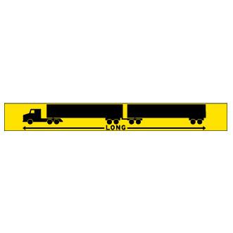 Train routier long